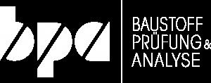 Logo Baustoff, Prüfung und Analyse